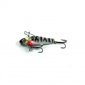 Twitchie's Twitch Blade Silver and Yellow (38mm 6g)